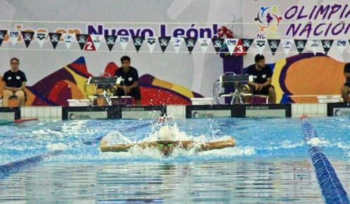 En el Centro Acuatico Olimpico Universitario NL-10