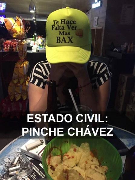Estado civil- Pinche Chavez-