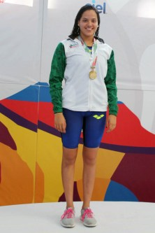 Rebeca Oviedo Es Oro-olimpiada nacional 2017-