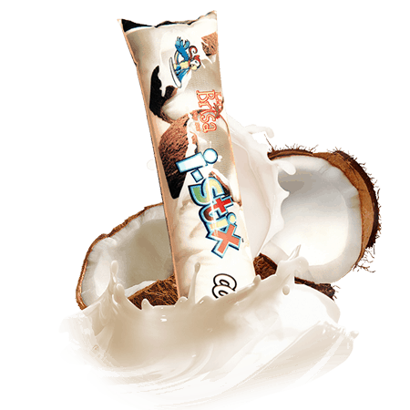 Coconut Push Pop