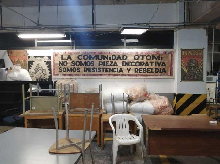 """""""Ellos sí tienen edificios"""". La toma del Instituto Nacional de los Pueblos Indígenas por la Comunidad Otomí de la Ciudad de México"""