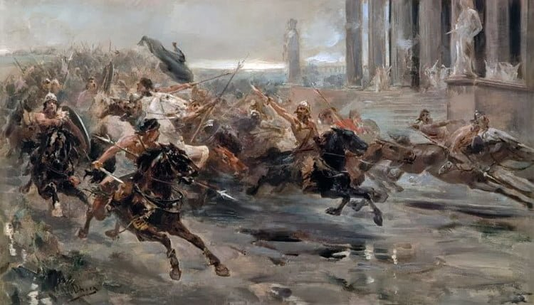 The 5 Great Last Battles of the Western Roman Empire