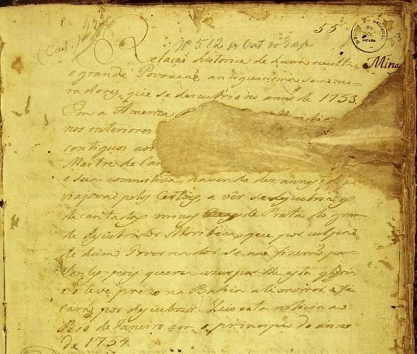 The enigmatic 512 Manuscript describing an ancient Mediterranean civilization in pre-Hispanic Brazil