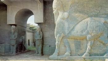 Ashurbanipal Palace in Nimrud