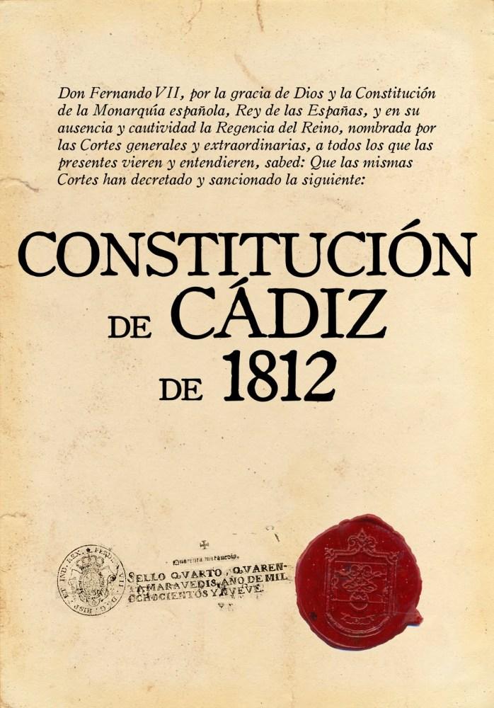 Bicentenario de La Constitución de Cádiz 1812-2012 (1/6)