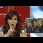 CFK: «Cambie la cara, Despouy»