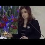 CFK cenando con las FF.AA.