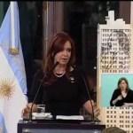 CFK haciendo numerología