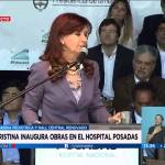 "CFK inaugura un ""showroom"" pediátrico"