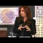 CFK sobre cómo esconder un elefante