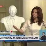 CFK sobre el déficit comercial con los EE.UU.