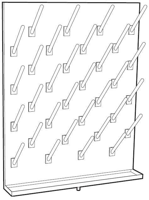 Laboratory Fittings: Pegboard