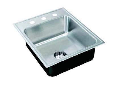 Laboratory Sinks Drop-In Stainless Steel Single Bowl Sinks