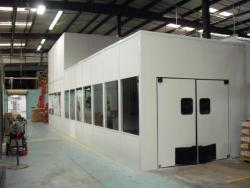 Laboratory In-Plant Modular Cleanroom