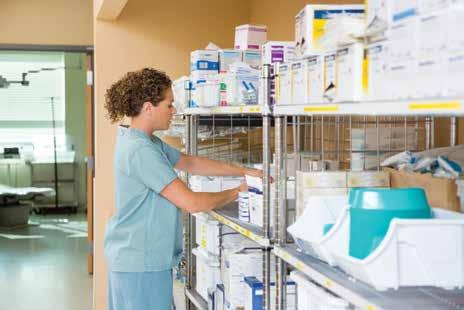 Hospital Modular Rack System