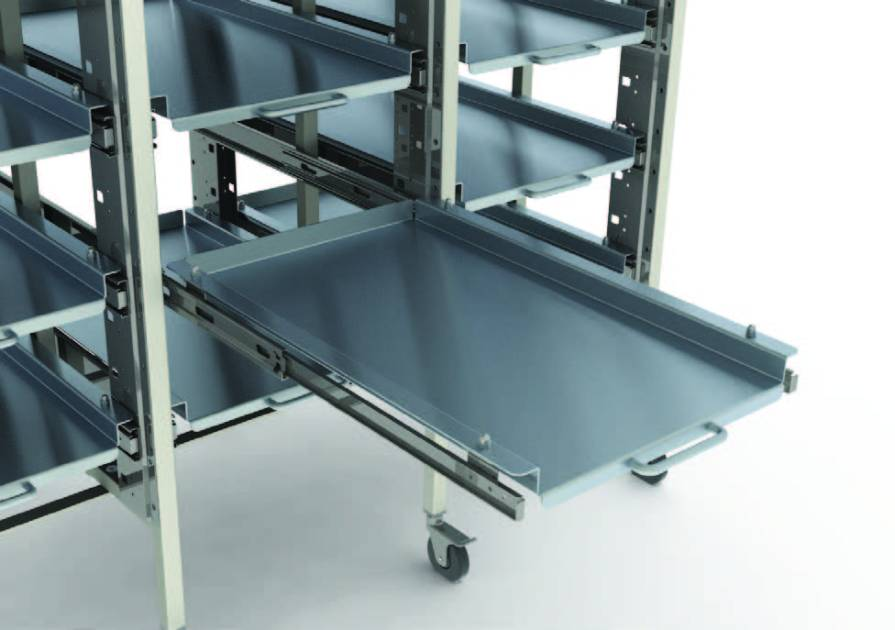 hospital sterile storage racks