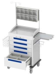 Medical Procedure Lab Carts