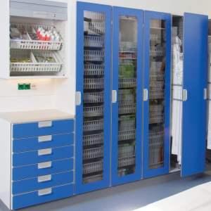 Hospital Modular Storage Management