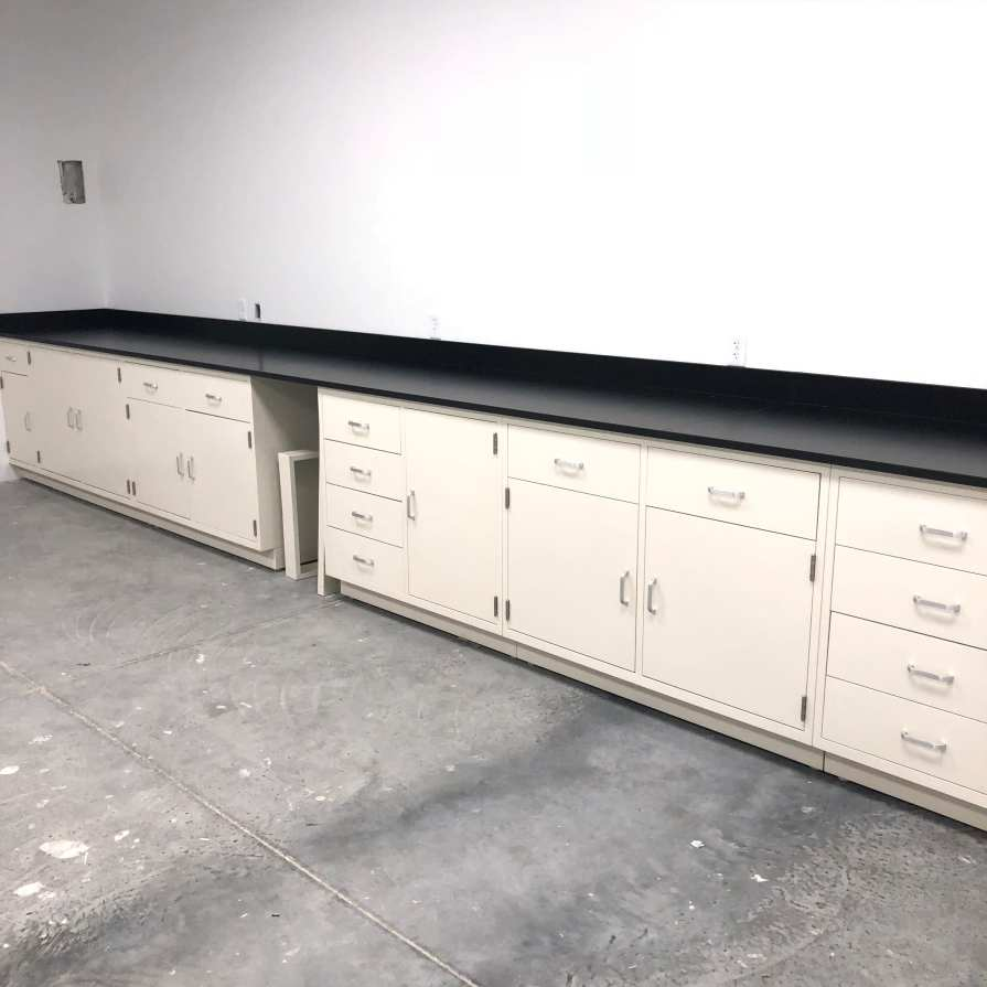 casework for mineral lab