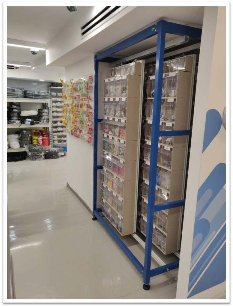Medical Inventory Shelves