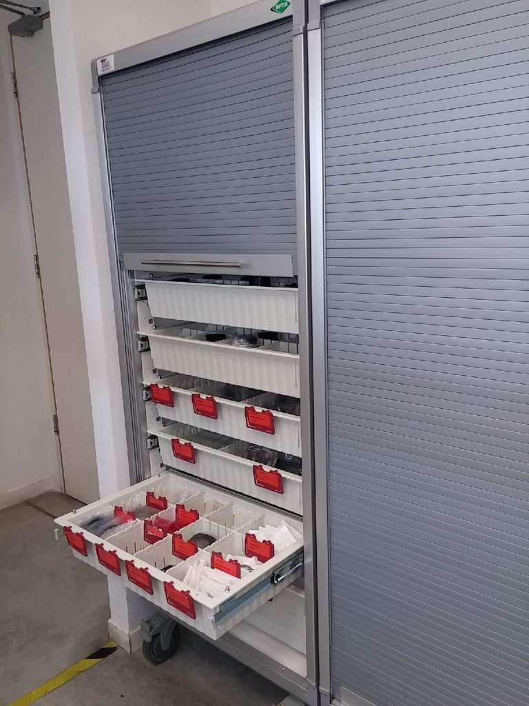Hospital Modular Rack System basket