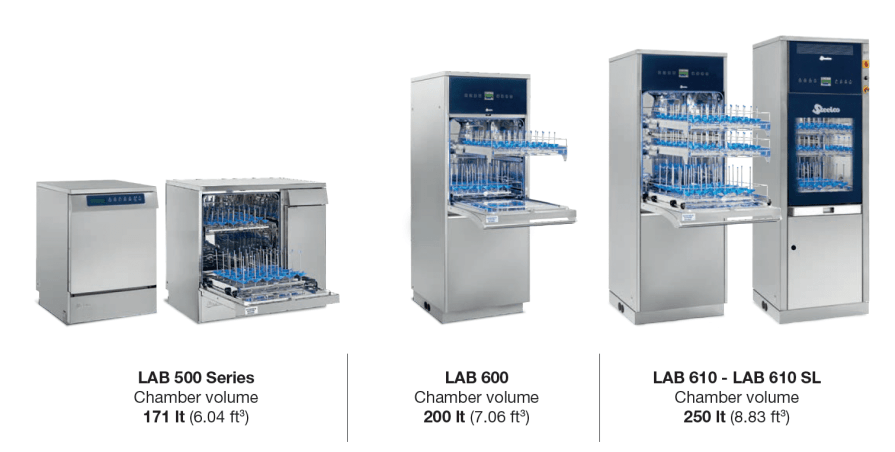 Laboratory Dishwasher 500, 600, 610, 610 SL