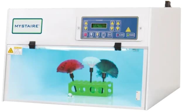 UV Light Box Workstation with Microprocessor Controller