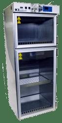 Laboratory Warming Cabinets Framed Glass Door Two Door
