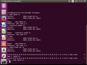 test des services serveur DNS ivoire Talents Labs