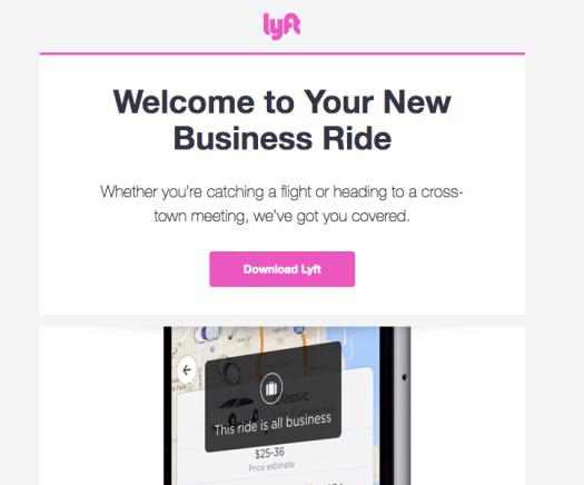 Lyft for Business 1