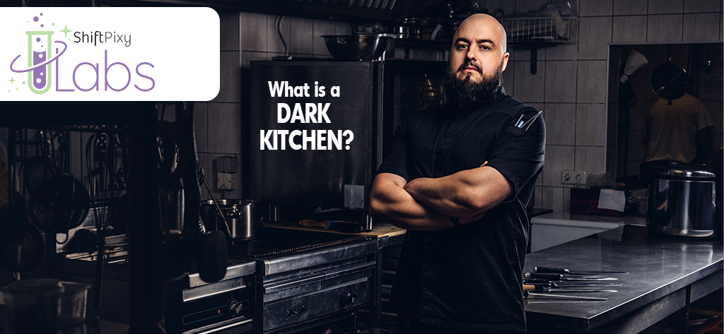 understanding a dark kitchen, picture of man in a dark kitchen