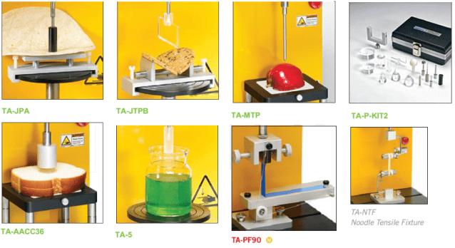 Phụ kiện cho máy phân tích cấu trúc thực phẩm CT3