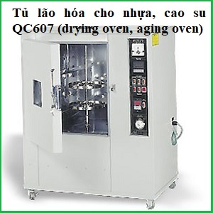Tủ lão hóa cho nhựa, cao su QC607