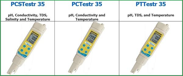 Bút đo đa chỉ tiêu PCSTestr 35; PCTestr 35; PTTestr 35