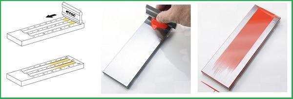 Cách sử dụngthước đo độ mịn màng sơn