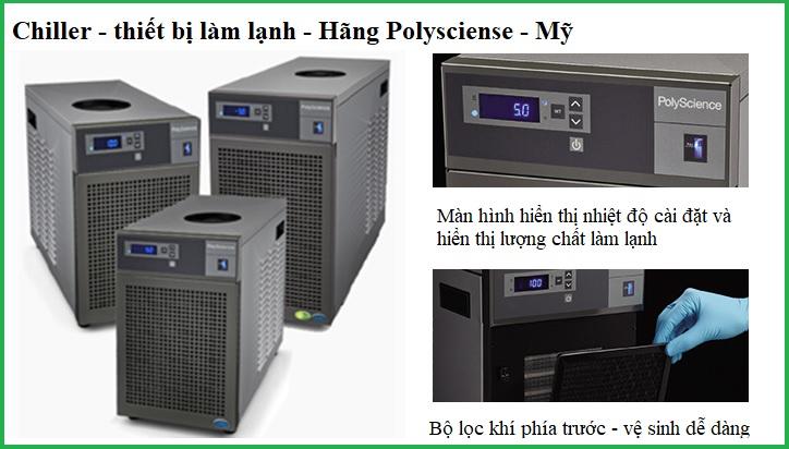 Thiết bị làm lạnh (Chiller) trong phòng thí nghiệm