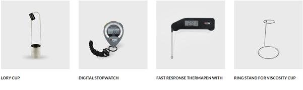 Phụ kiện cho cốc đo độ nhớt TQC