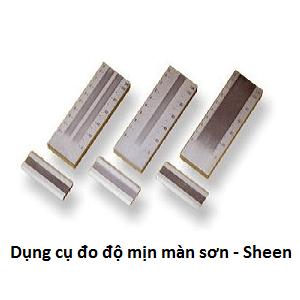 Thước đo độ mịn màng sơn - Sheen
