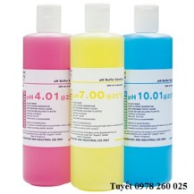 Dung dịch chuẩn pH 4, pH 7, pH 10