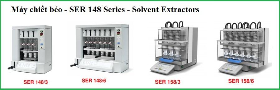 Máy chiết béo (3 và 6 vị trí) - Solvent Extractors