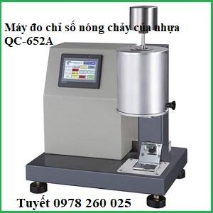 Máy đo chỉ số chảy của nhựa QC-652S(chỉ số MFI,melt flow index)