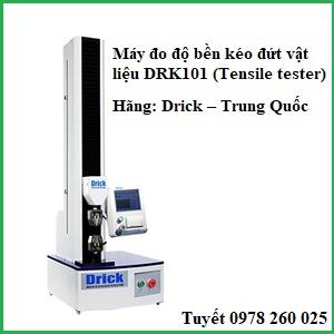 máy đo độ bền kéo đứt vật liệu DRK101 (tensile tester)