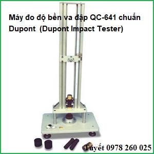 Máy đo độ bền va đập QC-641 chuẩn Dupont (Dupont Impact Tester)