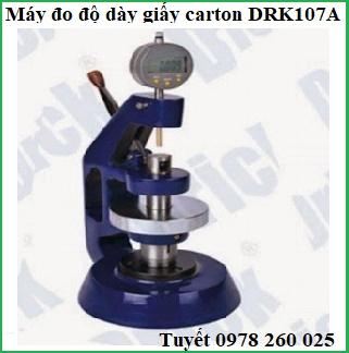 Máy đo độ dày giấy DRK107A Trung Quốc