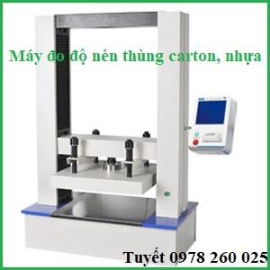 Máy đo độ nén thùng carton Trung Quốc DRK123