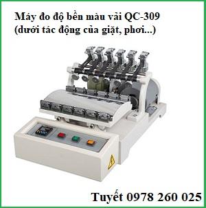 Máy đo độ phai màu vải QC-319