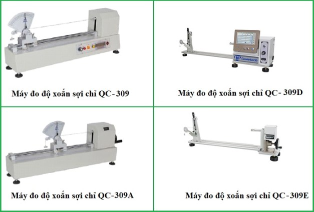 Thiết bị đo độ xoắn sợi chỉ QC-309