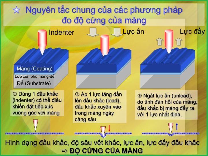 Phương pháp xác định độ cứng lớp phủ