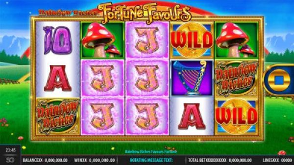 new slot 2018: rainbow riches fortune favours
