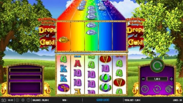 Why should you play Rainbow Riches Drops of Gold
